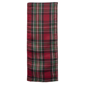 Red & Green Plaid Table Runner