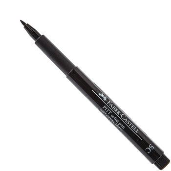 Black Faber-Castell PITT Artist Soft Chisel Pen