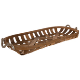 Oval Wood Tray