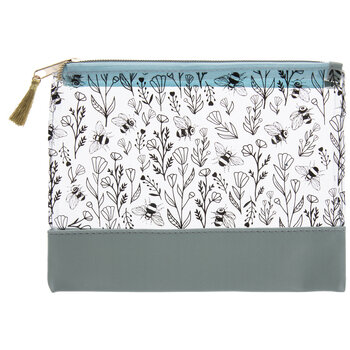 Flowers & Bees Pouch