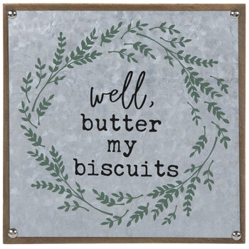 Butter My Biscuits Wood Wall Decor