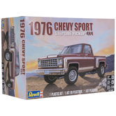 Chevy Sport Stepside Pickup Model Kit