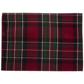 Red Ascot Plaid Placemat