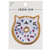 Donut Cat Iron-On Applique