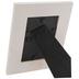 White Distressed Wood Frame - 3 1/2
