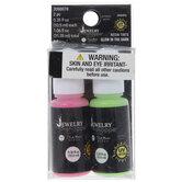Pink & Green Glow-In-The-Dark UV Resin Tints