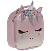 Pink Iridescent Unicorn Lunch Box