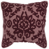 Red Embroidered Pillow