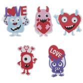 Monster Foam Stickers