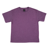 Heather Aubergine Tri-Blend T-Shirt - Small