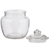 Round Glass Canister - 20 Ounce