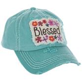 Blessed Floral Baseball Cap