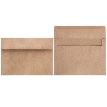 Kraft Wreath Border Envelopes