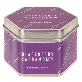 Blackberry Cardamom Candle Tin