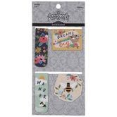 Bee & Sloth Magnetic Bookmarks