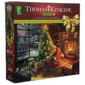 Santa Under The Tree Thomas Kinkade Puzzle