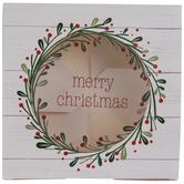 Merry Christmas Wreath Treat Boxes