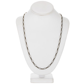 Oval Link Chain Necklace - 30""