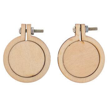 """Circle Wood Frames - 1 1/2"""""""