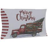 Christmas Tree Truck Gift Card Holders