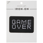 Game Over Iron-On Applique