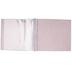 White & Silver Marble Post Bound Scrapbook Album - 12