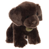 Plush Chocolate Lab