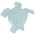 Aqua Wood Sea Turtle