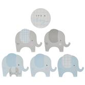 It's A Boy Elephant Cutouts