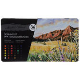 Master's Touch Semi-Moist Watercolor Paints - 36 Piece Set