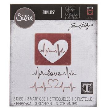 Sizzix Thinlits Heartbeat Dies