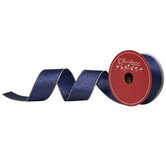 """Blue & Gold Wired Edge Ribbon - 1 1/2"""""""