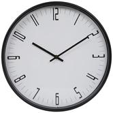 White & Black Sleek Wall Clock