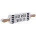 Just Roll With It Rolling Pin Wood Decor