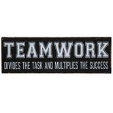Teamwork Wood Decor