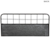 Galvanized Metal Wall Planter - Large