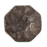 Octagonal Hammered Metal Knob