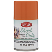 Tangerine Krylon Short Cuts Spray Paint