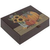 Pumpkins & Sunflowers Box - Large
