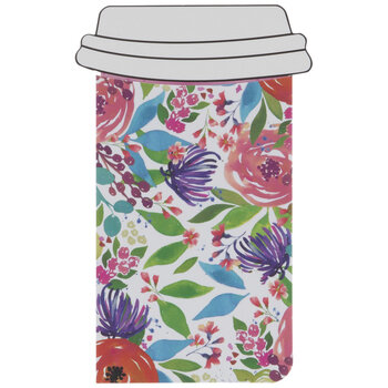 Floral Coffee Cup Gift Card Holders