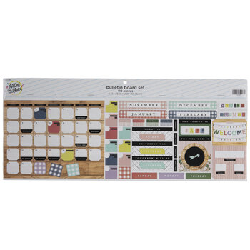 Farmhouse Lane Calendar Bulletin Board Set