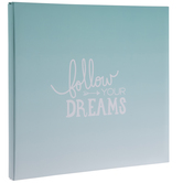 "Follow Your Dreams Post Bound Scrapbook Album - 12"" x 12"""