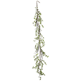 Light Green Eva Tea Leaf & Branch Garland