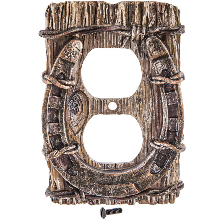 Horseshoe Outlet Cover Hobby Lobby 617316