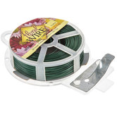 Green Easy Cut Green Floral Wire - 26 Gauge