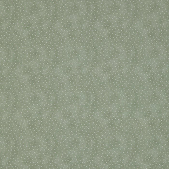 Olive Dot Cotton Calico Fabric