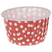 Red & White Polka Dot Paper Candy Cups