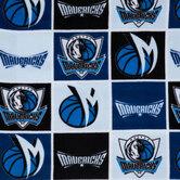 NBA Dallas Mavericks Fleece Fabric
