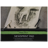"Master's Touch Newsprint Paper Pad - 18"" x 24"""
