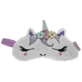 White Faux Fur Unicorn Sleep Mask